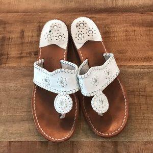 White Jacks Rogers Sandals